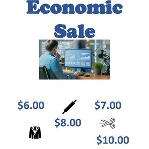 Sale - making room for new items